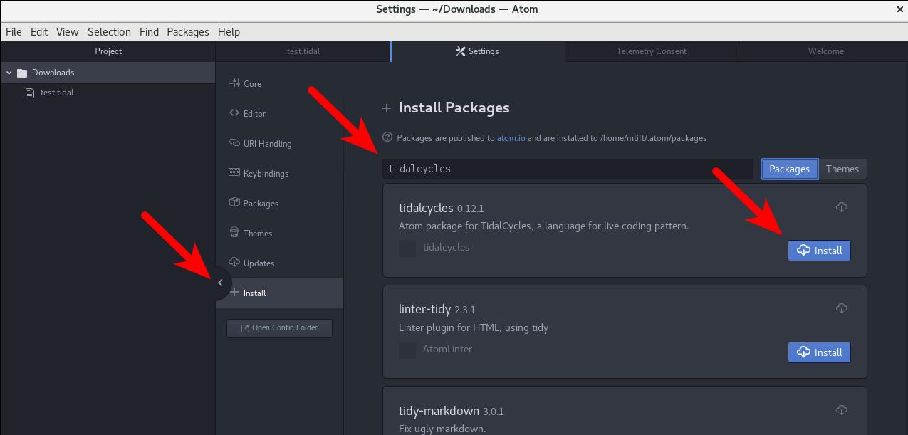 Install Tidal on Debian Stretch | Matthew Tift