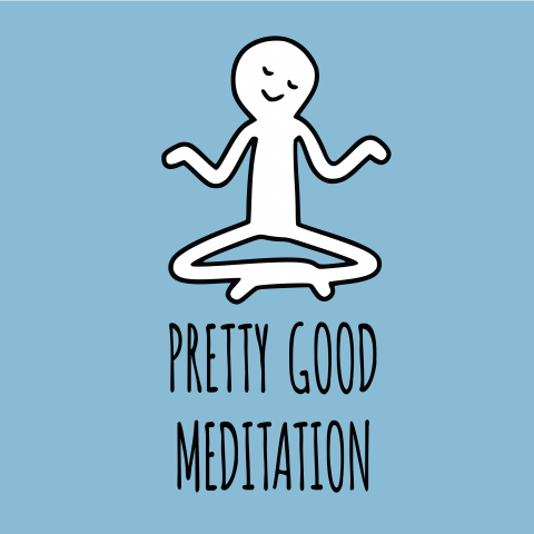Pretty Good Meditation Logo