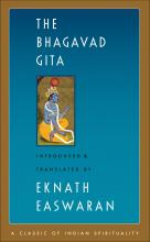 Cover page to Eknath Easwaran's translation of The Bhagavad Gita